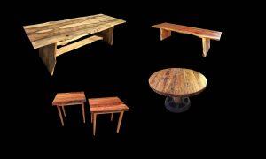 Evan Wittels live natural edge furniture Raleigh NC
